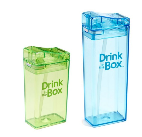 Robuste Kinder Trinkflasche 0% BPA - Drink in the Box