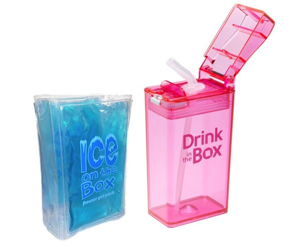 Auslaufsichere Kinder Trinkflasche - Drink in the Box mit Ice on the Box